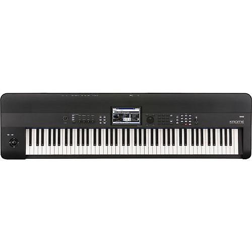 korg krome 88 88 key keyboard workstation with weighted keys reverb. Black Bedroom Furniture Sets. Home Design Ideas