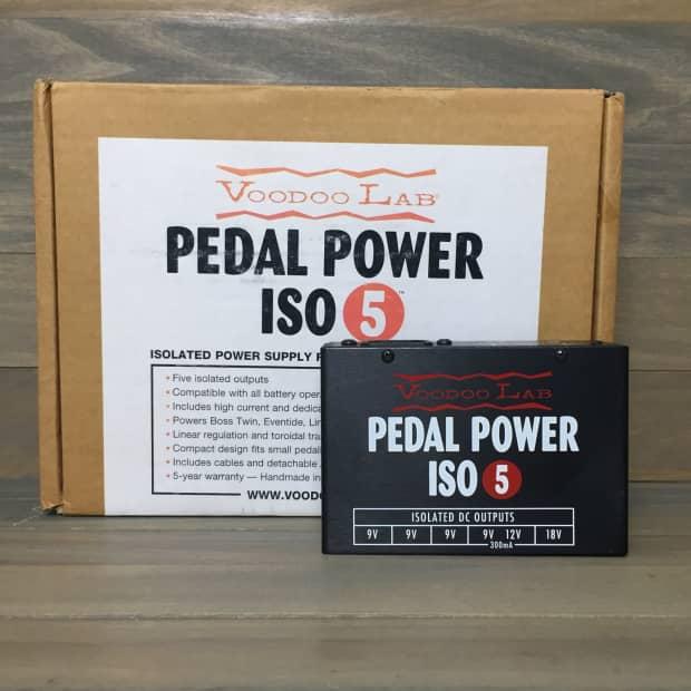 voodoo lab pedal power iso 5 reverb. Black Bedroom Furniture Sets. Home Design Ideas