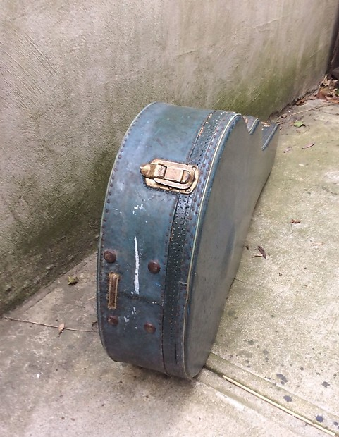 Vintage 1950 S Gibson J 200 Acoustic Hard Shell Case