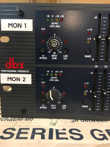Dbx 1231: DBX 1231 Graphic Equalizer