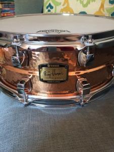 Yamaha Roy Haynes Hammered Copper Signature Snare image