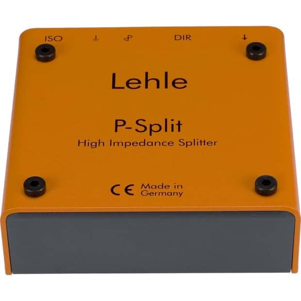 lehle p split ii splitter with high end lthz transformer reverb. Black Bedroom Furniture Sets. Home Design Ideas