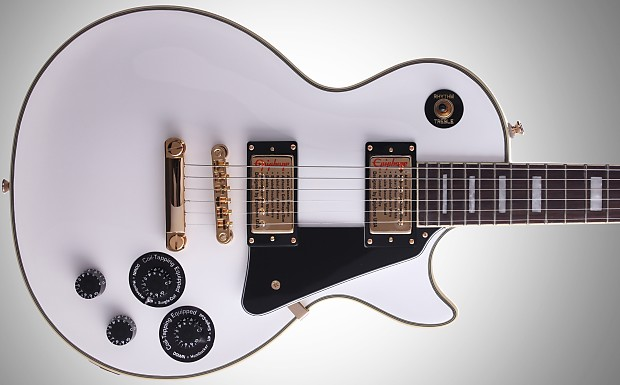 epiphone les paul custom pro 2017 alpine white reverb. Black Bedroom Furniture Sets. Home Design Ideas