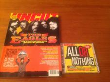 Uncut magazine  The Eagles ,with CD 2002 image
