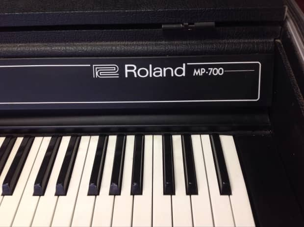 1977 Roland Mp 700 Keyboard Amp Mp 100 Amp Speaker Works