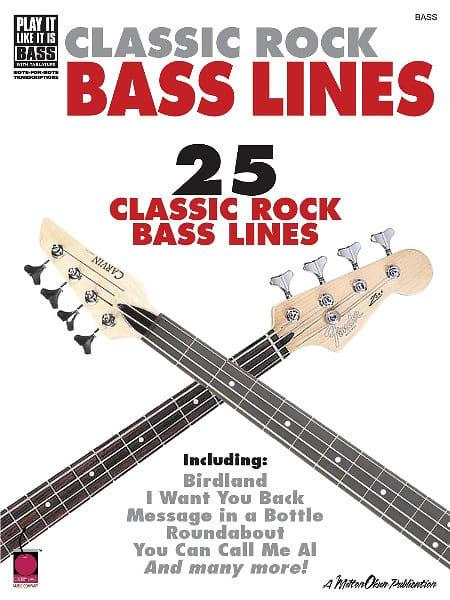 classic rock bass lines reverb