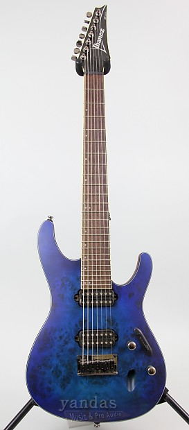clearance ibanez s7721pb 7 string s series electric guitar reverb. Black Bedroom Furniture Sets. Home Design Ideas