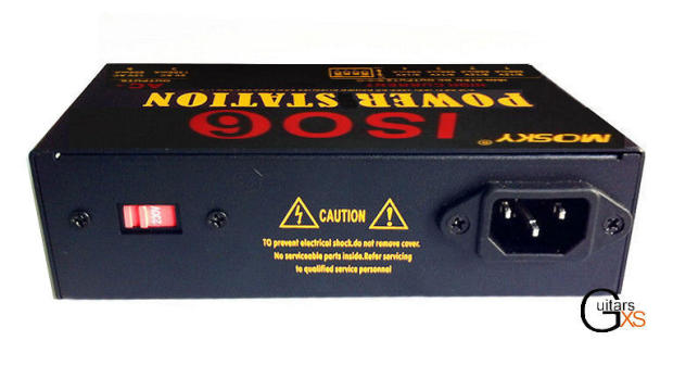 Mosky Iso6 Power Station And Pedal Power Supply Ac Dc