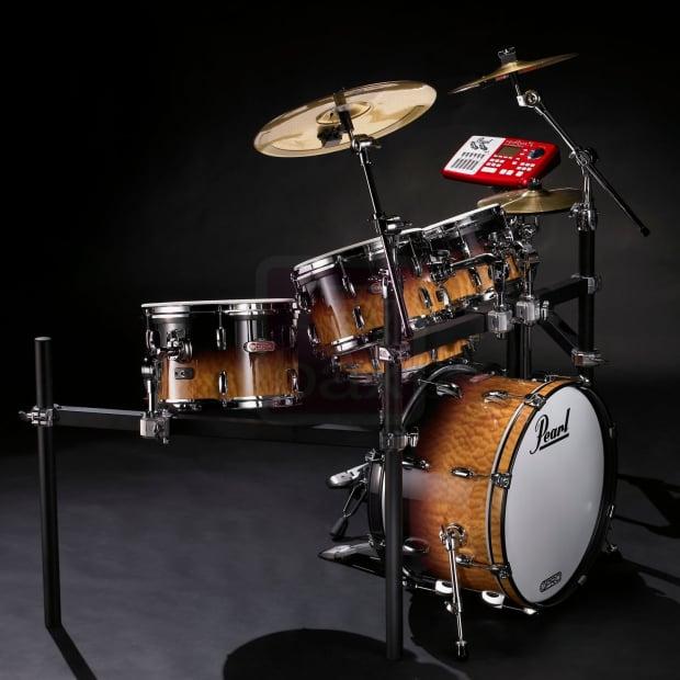 Electronic Acoustic Drum Set : pearl e pro live electronic acoustic drum set quilted maple reverb ~ Vivirlamusica.com Haus und Dekorationen
