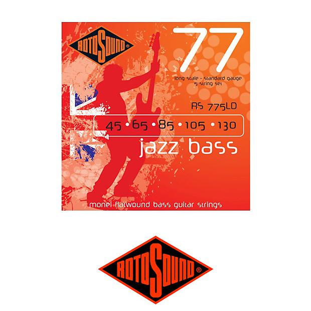 rotosound jazz 77 monel flatwound 5 string bass strings reverb. Black Bedroom Furniture Sets. Home Design Ideas