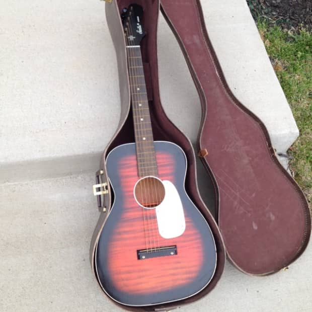 harmony stella acoustic guitar 1967 w original case reverb. Black Bedroom Furniture Sets. Home Design Ideas