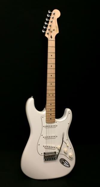 fender squier deluxe stratocaster strat electric guitar reverb. Black Bedroom Furniture Sets. Home Design Ideas