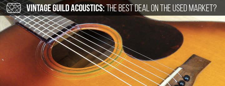 Vintage Guild Acoustics: The Best Deal on the Used Market?