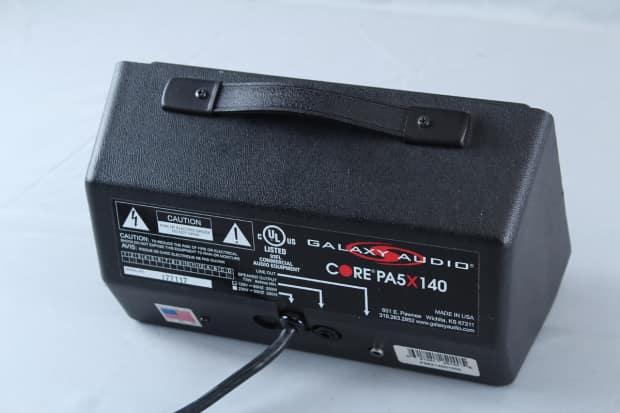 Used Galaxy Audio Hot Spot Powered Monitor Core Pa5 X140