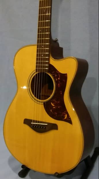 Yamaha ac1m concert size acoustic electric w hard for Yamaha reface hard case