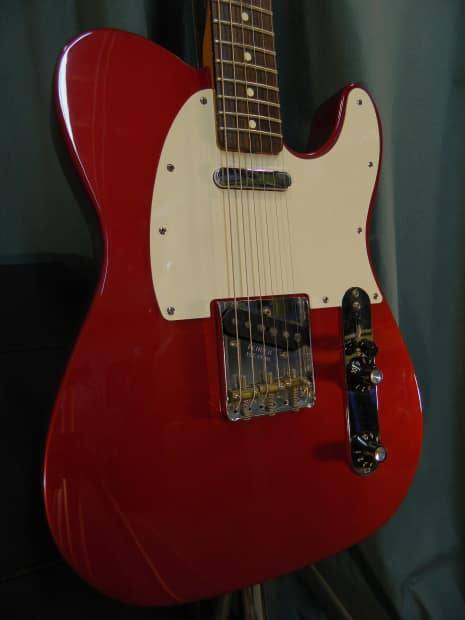 Fender Muddy Waters Telecaster 2007 Candy Apple Red | Reverb