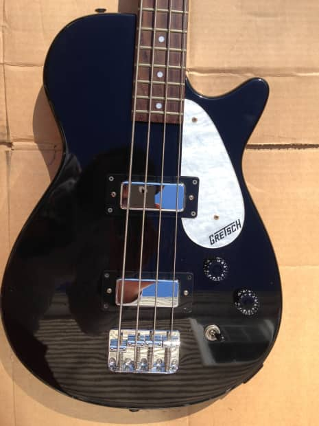 gretsch bass guitar and carrying case reverb. Black Bedroom Furniture Sets. Home Design Ideas