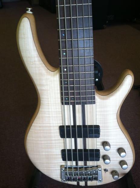 cort a6 natural 6 string bass w bartolini pickups reverb. Black Bedroom Furniture Sets. Home Design Ideas