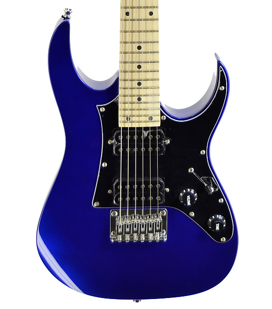 ibanez grgm21 gio mikro half size electric guitar blue. Black Bedroom Furniture Sets. Home Design Ideas