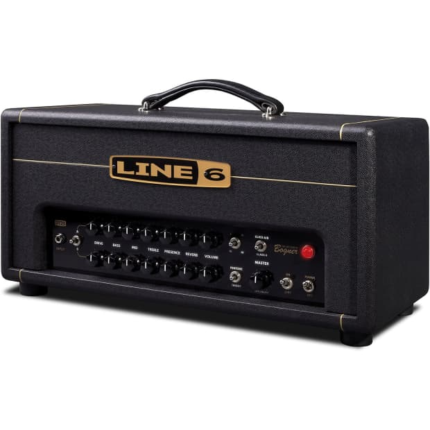 line 6 dt25 25 w tube guitar amp head reverb. Black Bedroom Furniture Sets. Home Design Ideas