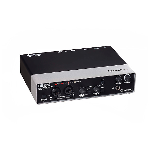 Steinberg UR242 USB Audio Interface with MIDI