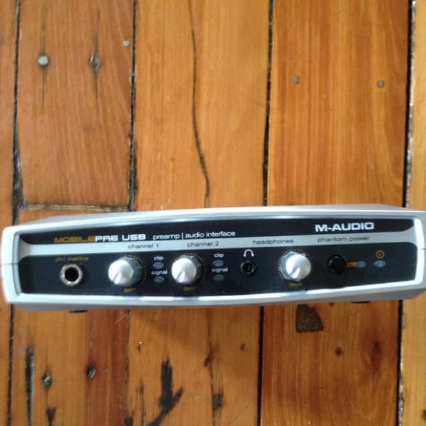 m audio mobile pre usb preamp audio interface 2006 silver reverb. Black Bedroom Furniture Sets. Home Design Ideas
