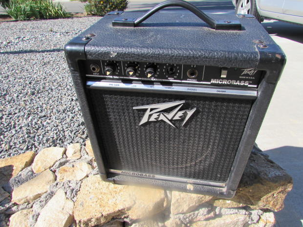 peavey micro bass amp 1990 39 s reverb. Black Bedroom Furniture Sets. Home Design Ideas