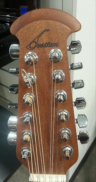 ovation 12 string 6751 standard balladeer black guitar reverb. Black Bedroom Furniture Sets. Home Design Ideas