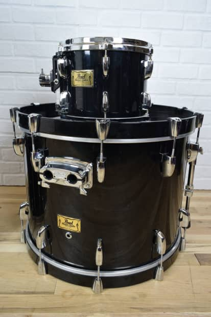 pearl masters studio drum set kit excellent used drums for reverb. Black Bedroom Furniture Sets. Home Design Ideas