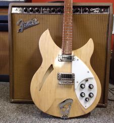 Rickenbacker 330 2006 Mapleglo Semi Hollow Body Electric Guitar with case image
