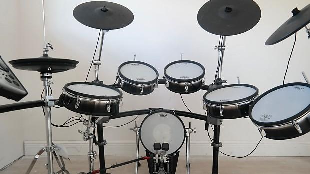 Progressive Near Me >> Roland TD-20 V-Pro Electronic Drum Set Kit w/ NEW DW Pedals, | Reverb