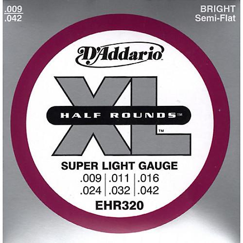d 39 addario ehr320 half round super light electric guitar reverb. Black Bedroom Furniture Sets. Home Design Ideas