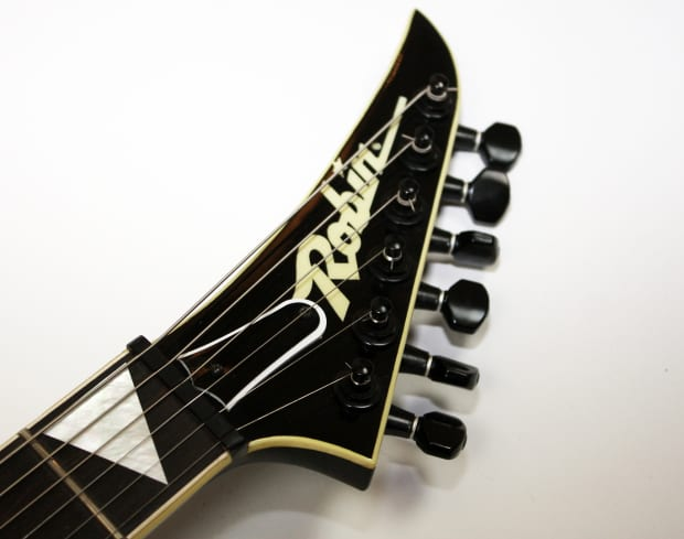 robin wedge custom 1985 black new old stock very rare guitar reverb. Black Bedroom Furniture Sets. Home Design Ideas