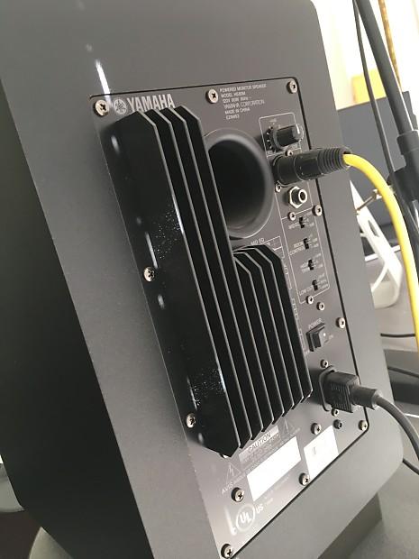 Yamaha hs80m powered studio monitors excellent condition for Yamaha hs80m specs