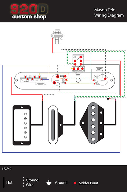 Wiring Diagram Telecaster 3 Way Switch