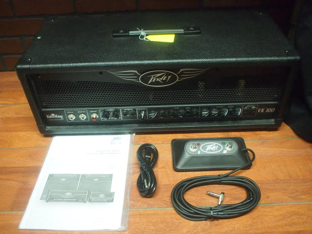 peavey valveking vk100 guitar amp head amplifier w footswitch manual nice reverb. Black Bedroom Furniture Sets. Home Design Ideas