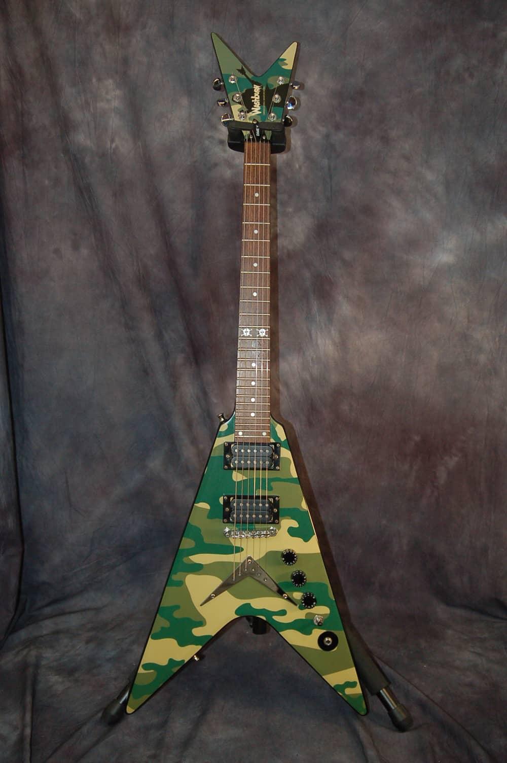 dimebag darrell guitar camo - photo #2