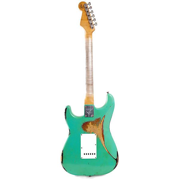 Fender Cs Stratocaster 60 Heavy Relic Namm 2014 Seafoam