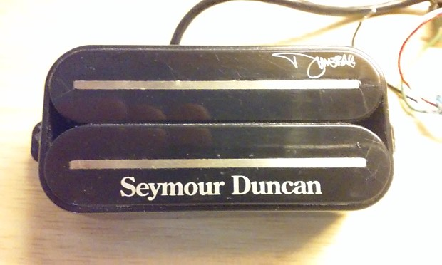 seymour duncan sh 13 dimebucker bridge black reverb