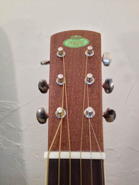 regal rd 30ms mahogany square neck resonator guitar used with reverb. Black Bedroom Furniture Sets. Home Design Ideas