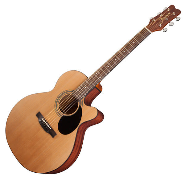 jasmine by takamine s34c grand orchestra cutaway acoustic guitar natural finish reverb. Black Bedroom Furniture Sets. Home Design Ideas