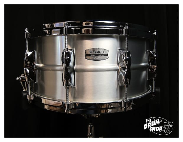 Yamaha aluminum 14x6 5 recording custom snare drum ras for Yamaha stage custom steel snare drum 14x6 5