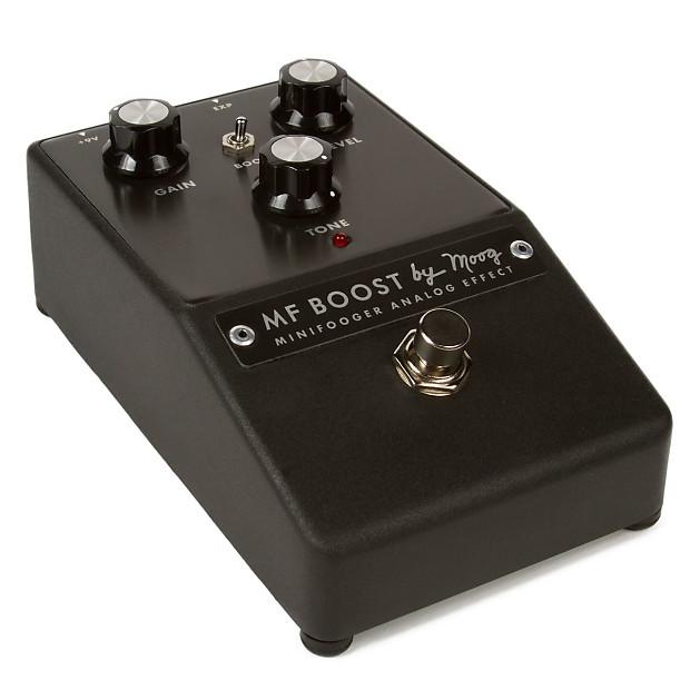 moog minifooger boost guitar effects pedal reverb. Black Bedroom Furniture Sets. Home Design Ideas