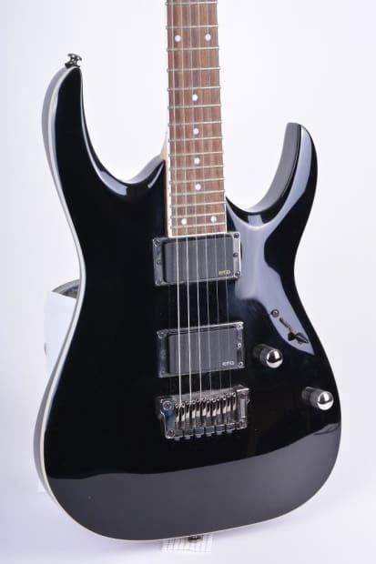 ibanez rga 42e 2012 black beautiful guitar with emg pickups reverb. Black Bedroom Furniture Sets. Home Design Ideas