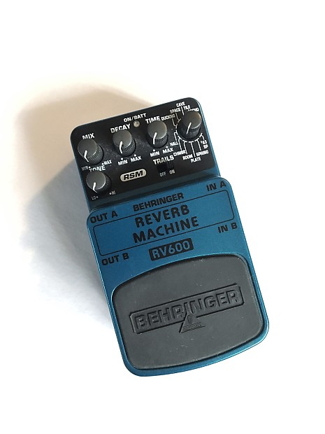 behringer reverb machine review