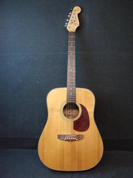 Fender San Marino Acoustic Dreadnaught Guitar California