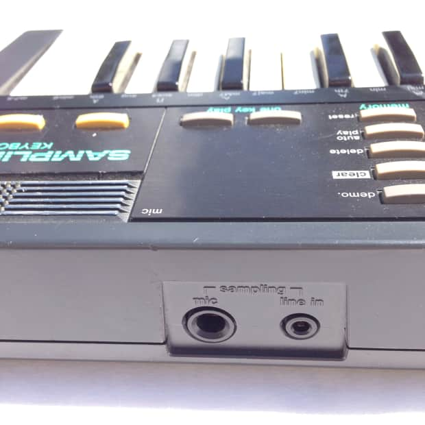 Casio Sk1 198039s Black Circuit Bent With Patch Bay Reverb