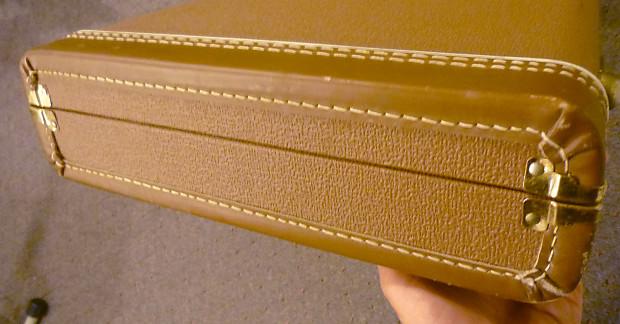 fender g g brown tolex electric guitar case for reverb. Black Bedroom Furniture Sets. Home Design Ideas