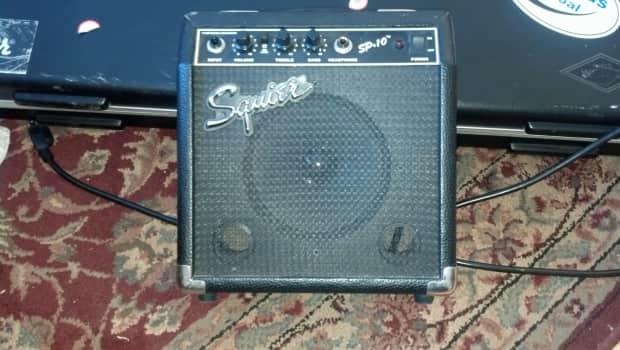 fender sp 10 practice amp guitar bass reverb. Black Bedroom Furniture Sets. Home Design Ideas