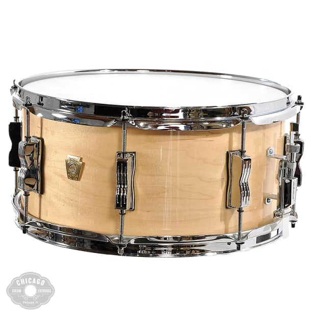 ludwig classic maple snare drum natural maple reverb. Black Bedroom Furniture Sets. Home Design Ideas